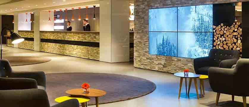 Hotel Heliopic, Chamonix, France - reception desk.jpg